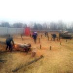 монтаж винтовых свай фундамент Раменское и Москва