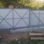 ворота и забор, монтаж Раменское и Москва